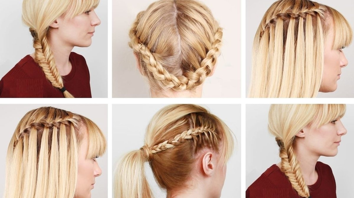 Tutorial: Four Hairstyles For Spring