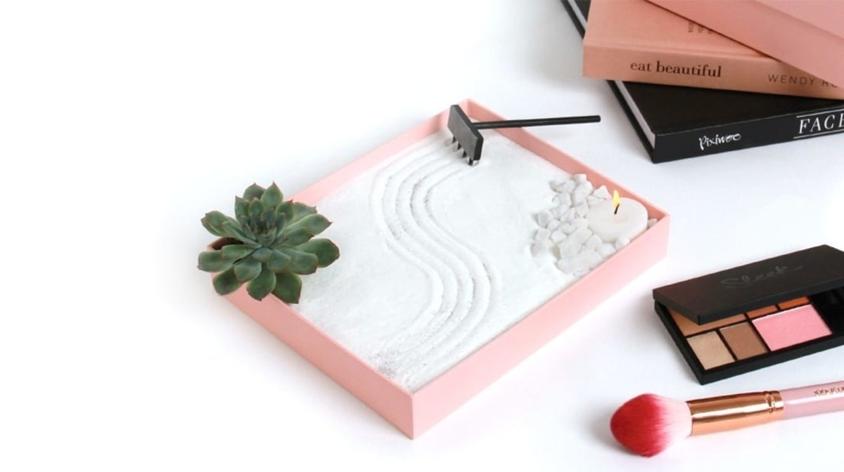 How To Turn Your GLOSSYBOX Into A Zen Garden