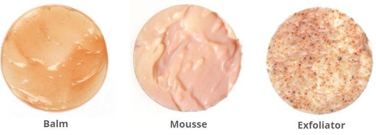 skincare textures