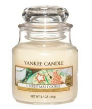 Christmas scented Yankee Candle