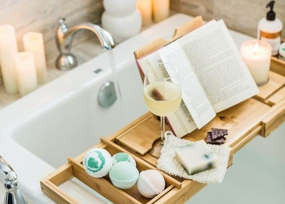 hygge bath time