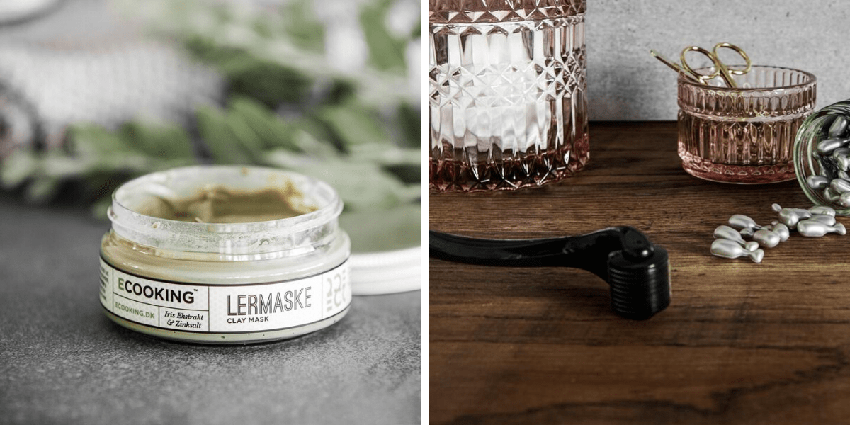 e-cooking clay mask e-cooking derma roller