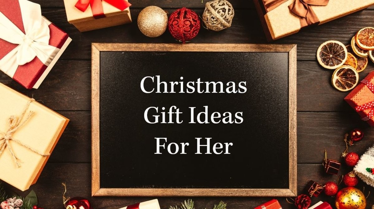 Christmas Present Ideas: A Gift Guide For Her