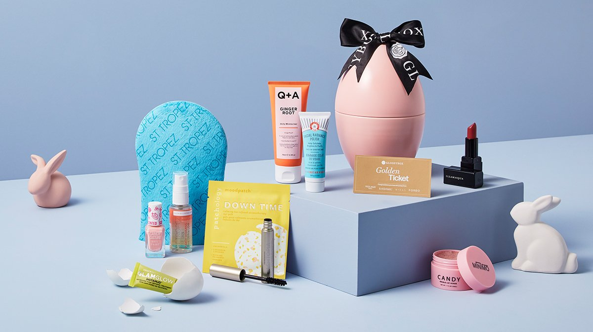 GLOSSYBOX Easter Egg 2020 Product Guide