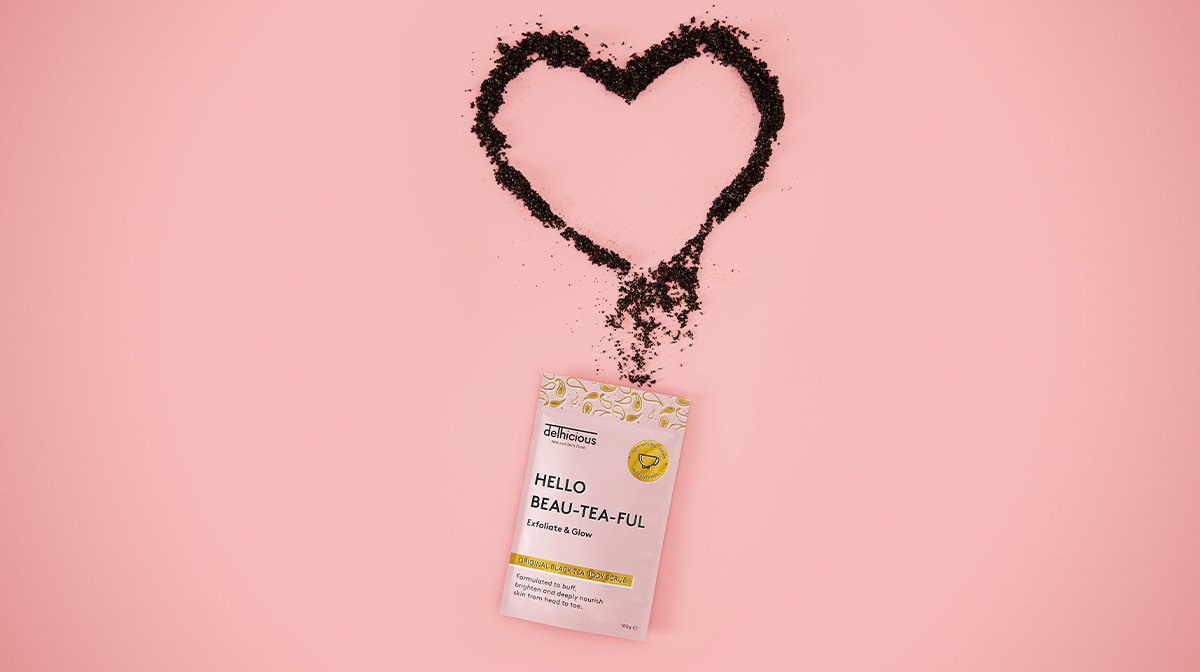 This Black Tea Body Scrub Tones And Brightens Your Skin