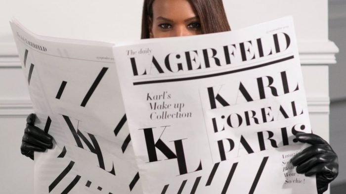 What To Expect From The Karl Lagerfeld X L'Oréal Paris Collection