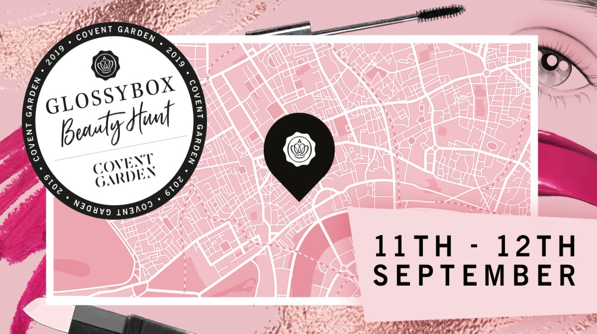 GLOSSYBOX Hosts Hunt At London Beauty Week