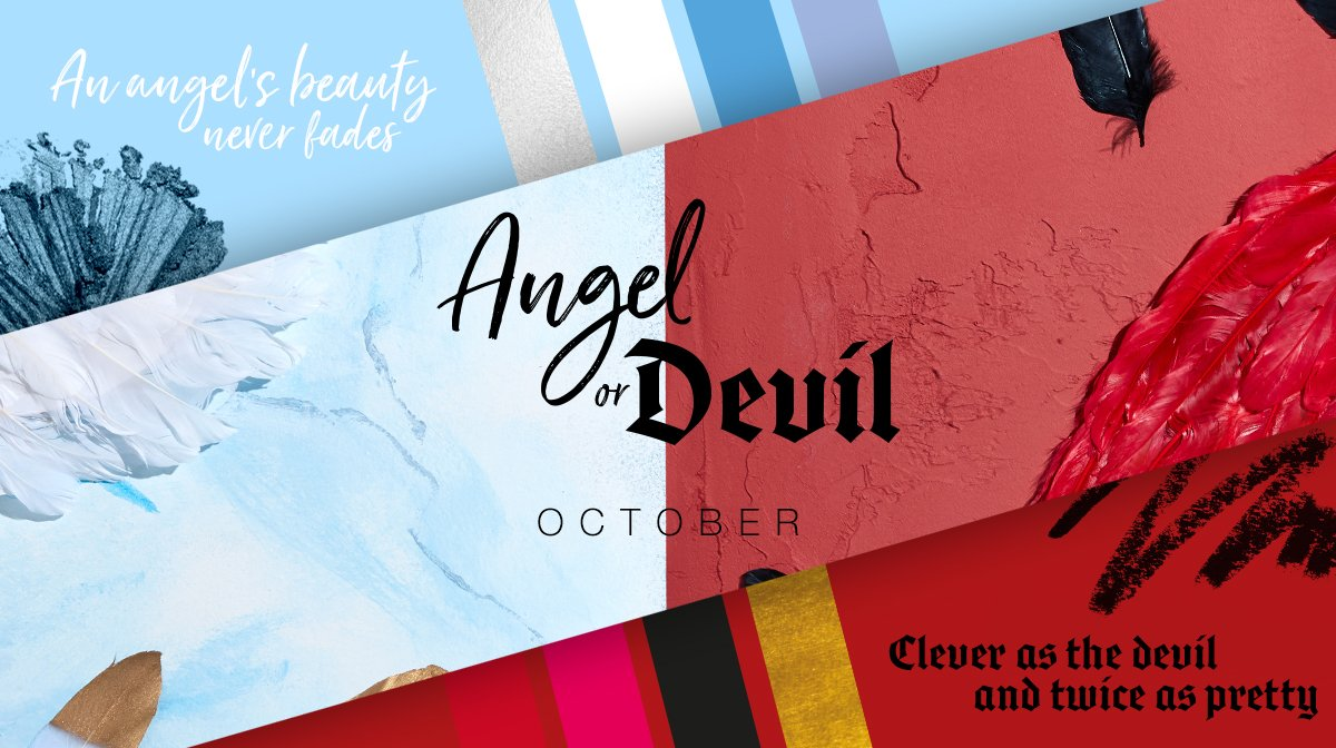 The Story Behind Our October 'Angel or Devil' Editions