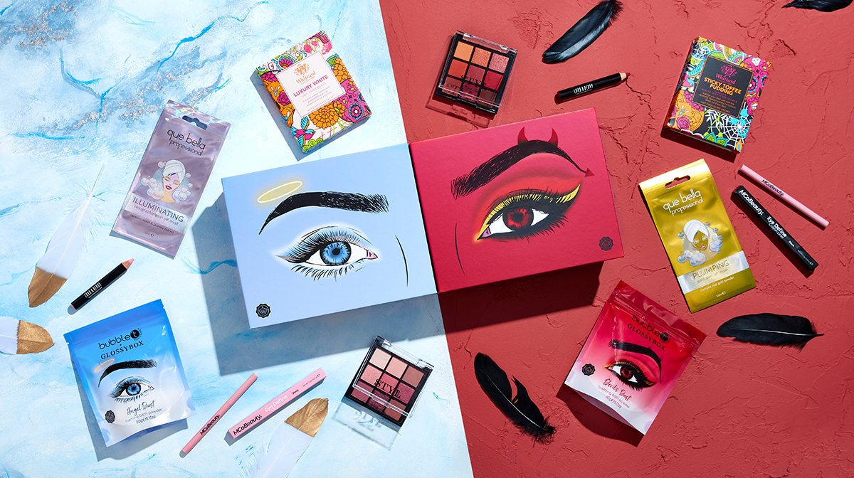 October 'Angel Or Devil' GLOSSYBOX: Full Product Guide