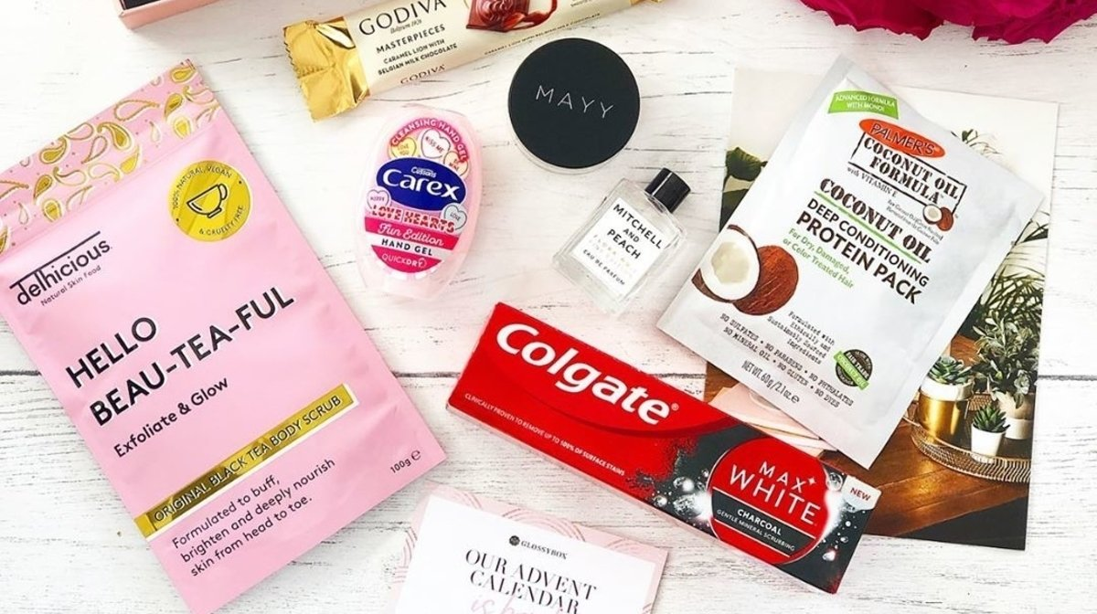 September GLOSSYBOX Reviews: 'Delicious Beauty'