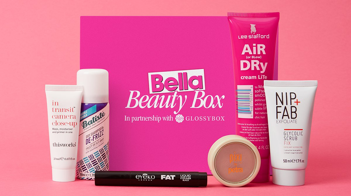 The GLOSSYBOX X Bella Beauty Limited Edition