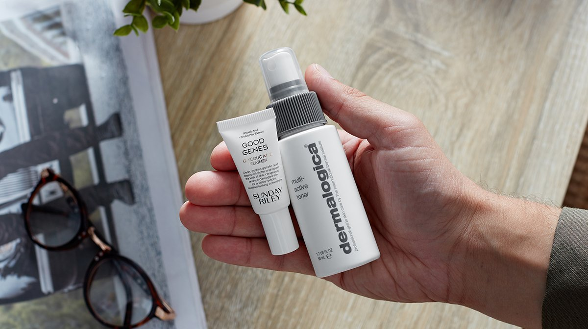 Grooming Kit: Sunday Riley and Dermalogica