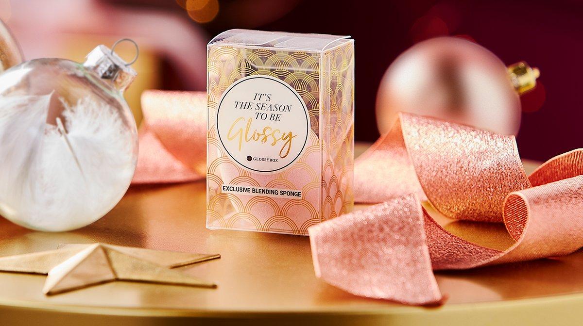 Makeup sponge GLOSSYBOX Advent Calendar 2019