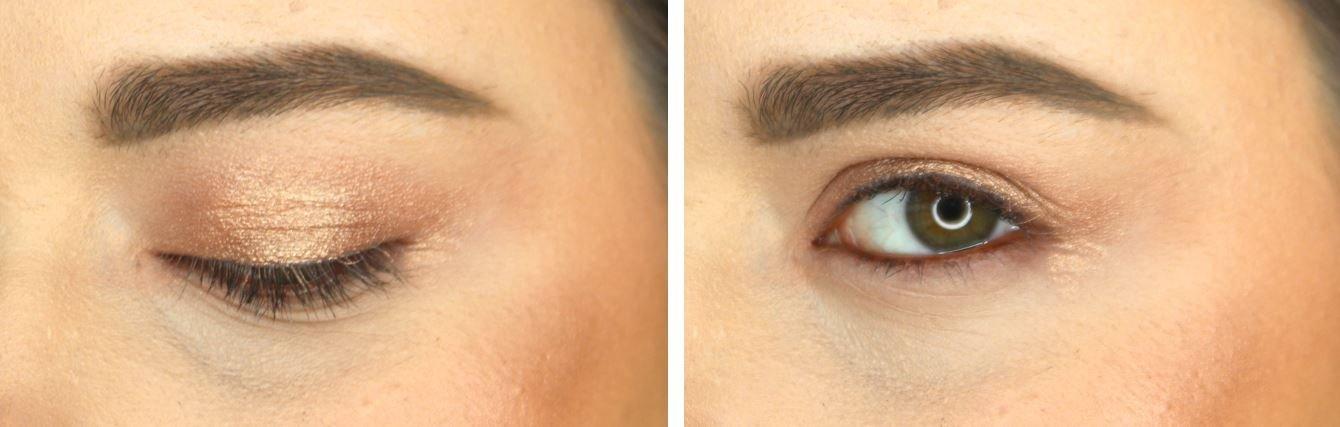 how to apply cream eyeshadow elegant day look