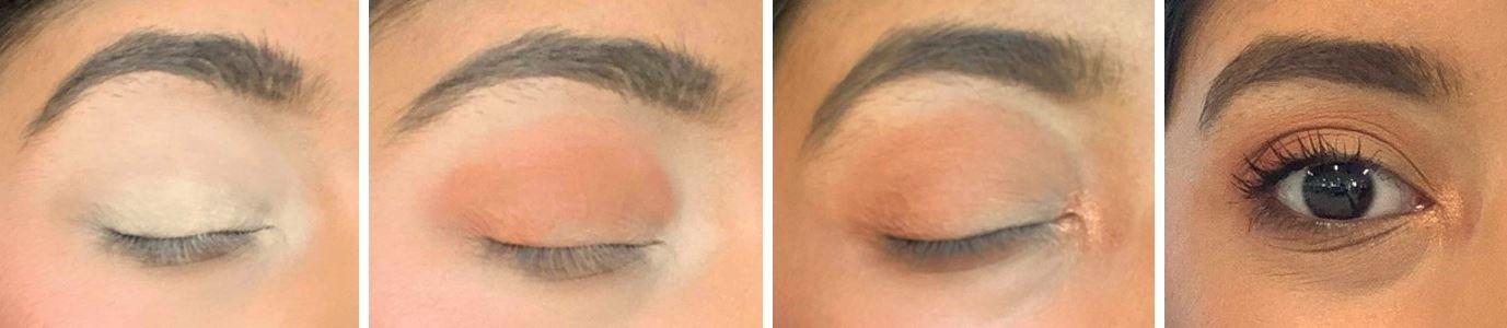 HUDA eyeshadow palette tutorial