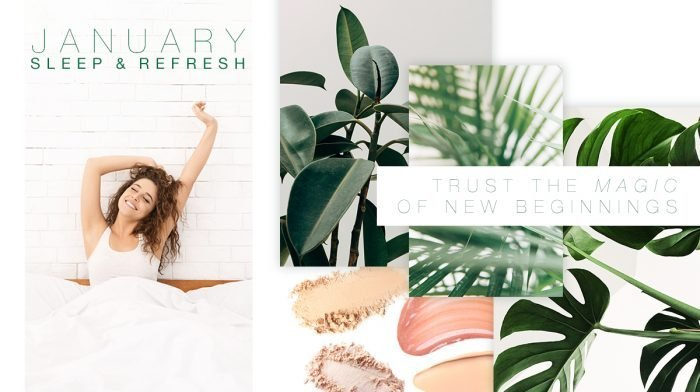 The Story Behind The January 'Sleep And Refresh' GLOSSYBOX