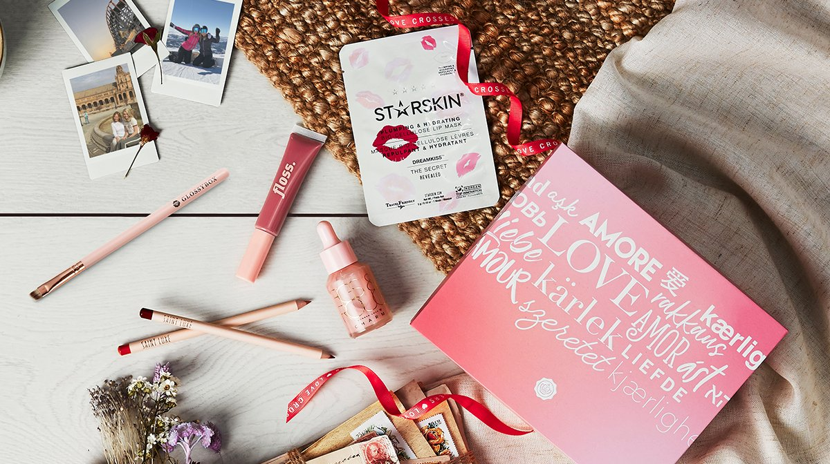 'Love Crosses Borders' February GLOSSYBOX Products