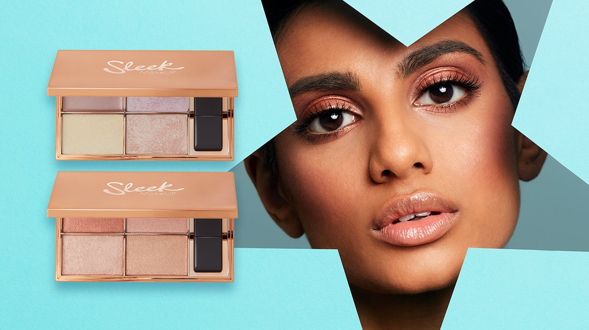 Meet The Best-Selling Sleek Highlighter Palettes