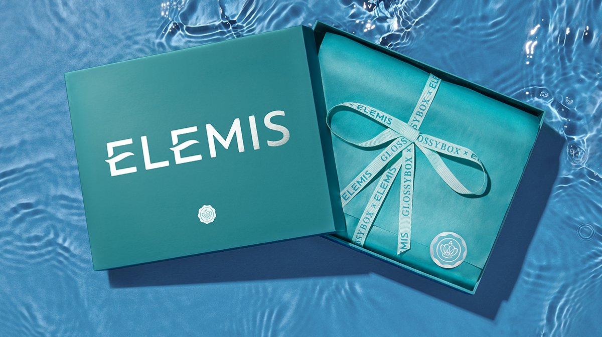 Introducing The 'GLOSSYBOX X ELEMIS' Limited Edition
