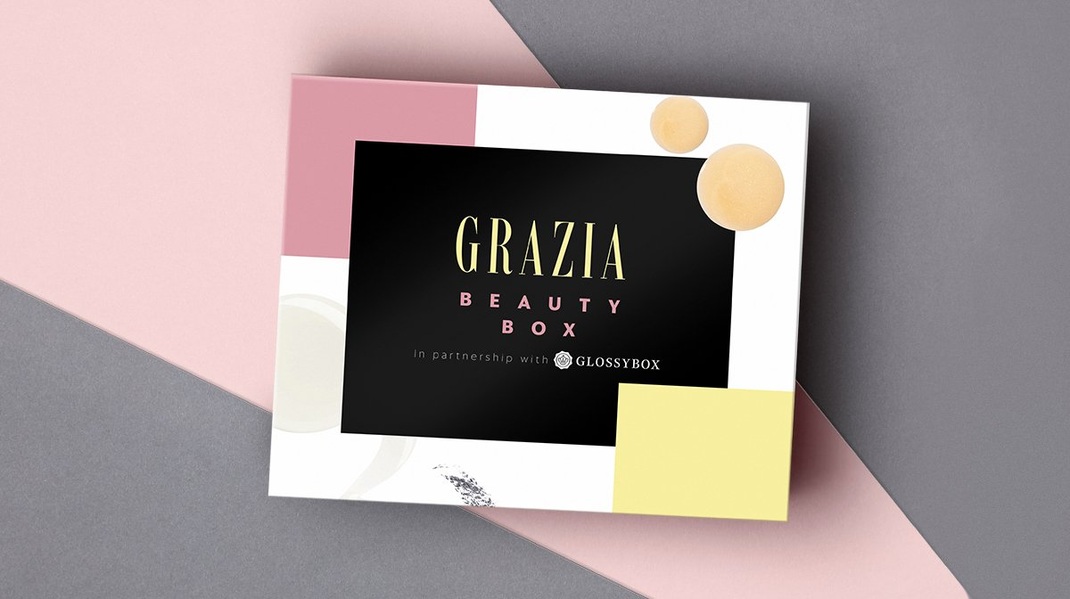 grazia limited edition glossybox