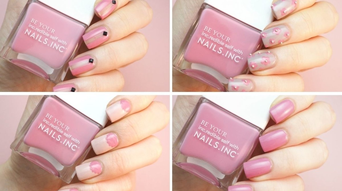 Four Easy Spring Nail Tutorials Featuring Nails.INC