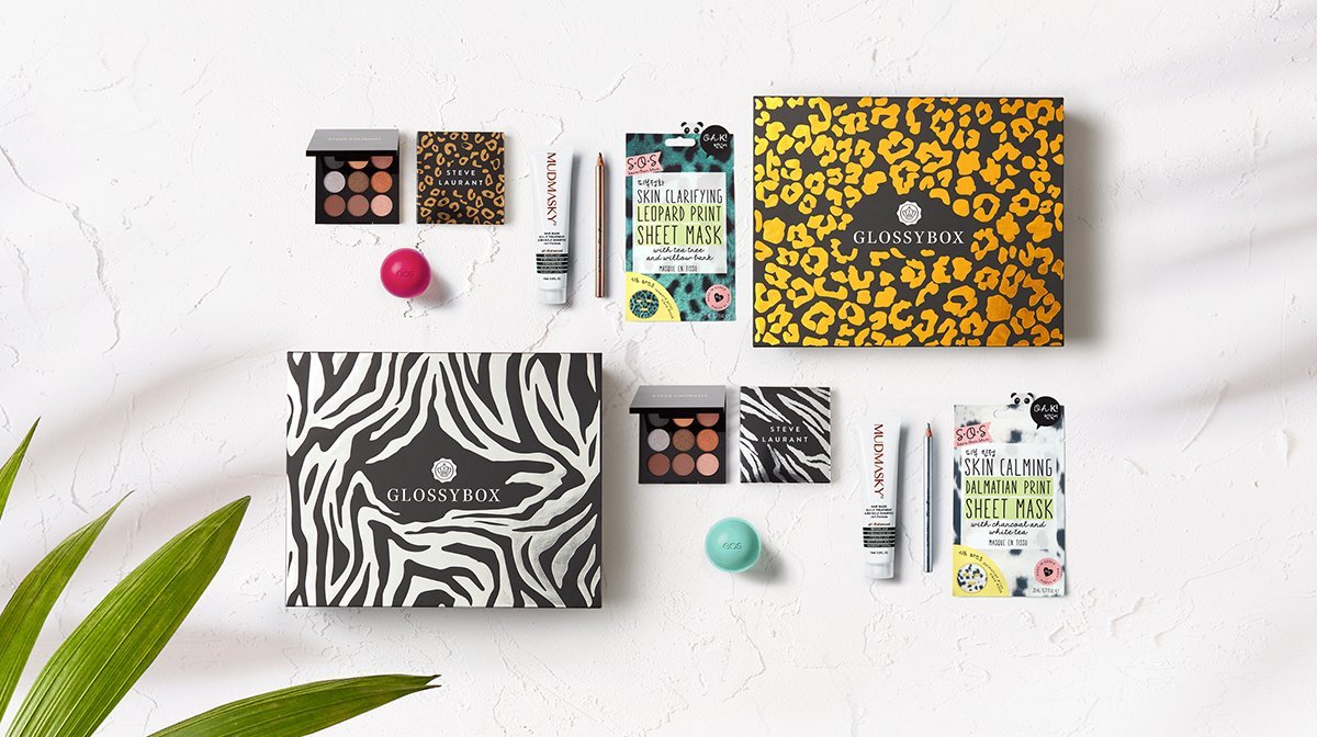 All The Products Inside The May 'Wild Thing' GLOSSYBOX