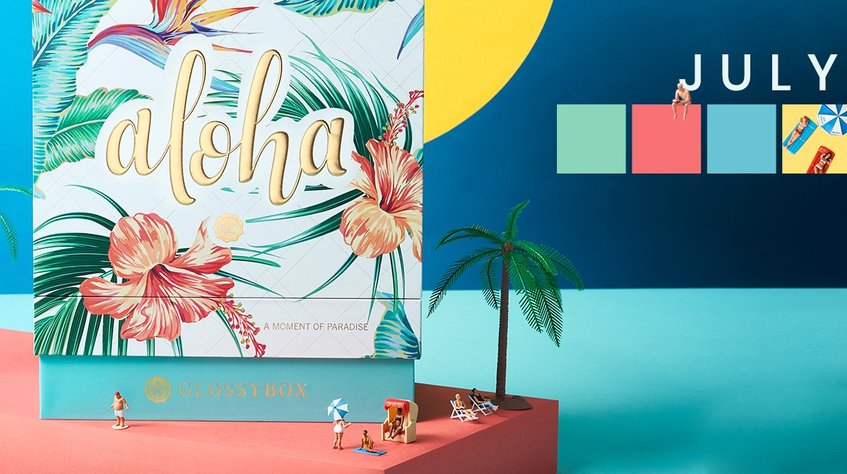 The Story Behind The July 'Aloha' GLOSSYBOX