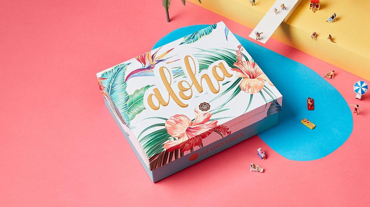 July 'Aloha' GLOSSYBOX