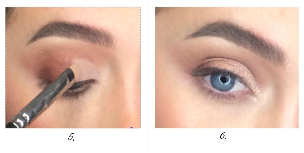 metallic liquid eyeshadow