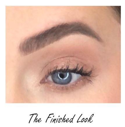 liquid eyeshadow finished look
