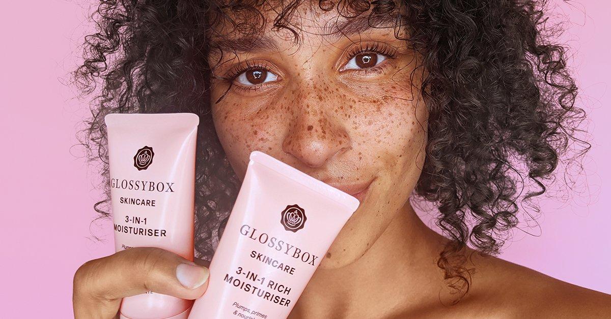 GLOSSYBOX Skincare Moisturisers