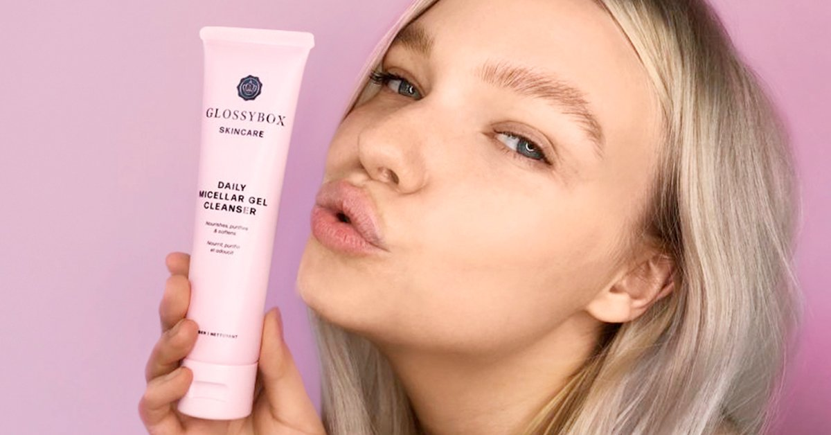 GLOSSYBOX Skincare Daily Micellar Gel Cleanser