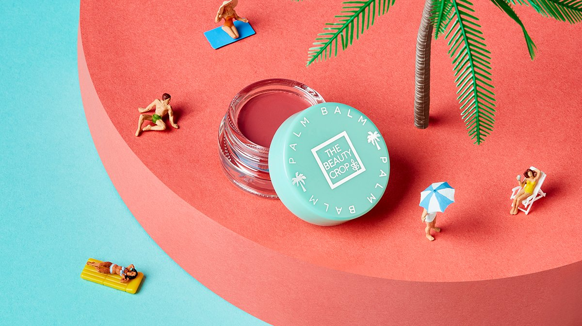 The Beauty Crop Palm Balm Has Your Summer Makeup Look Covered