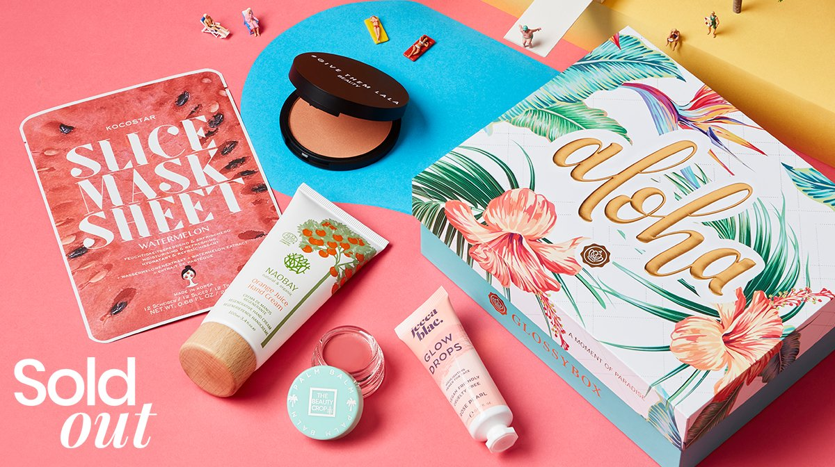 'Aloha' July GLOSSYBOX: All Products Revealed