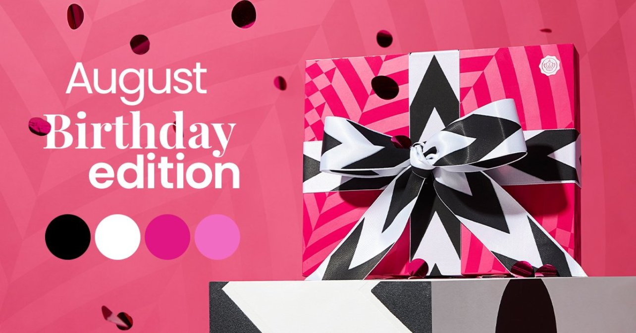 The Story Behind The August 'Birthday' GLOSSYBOX
