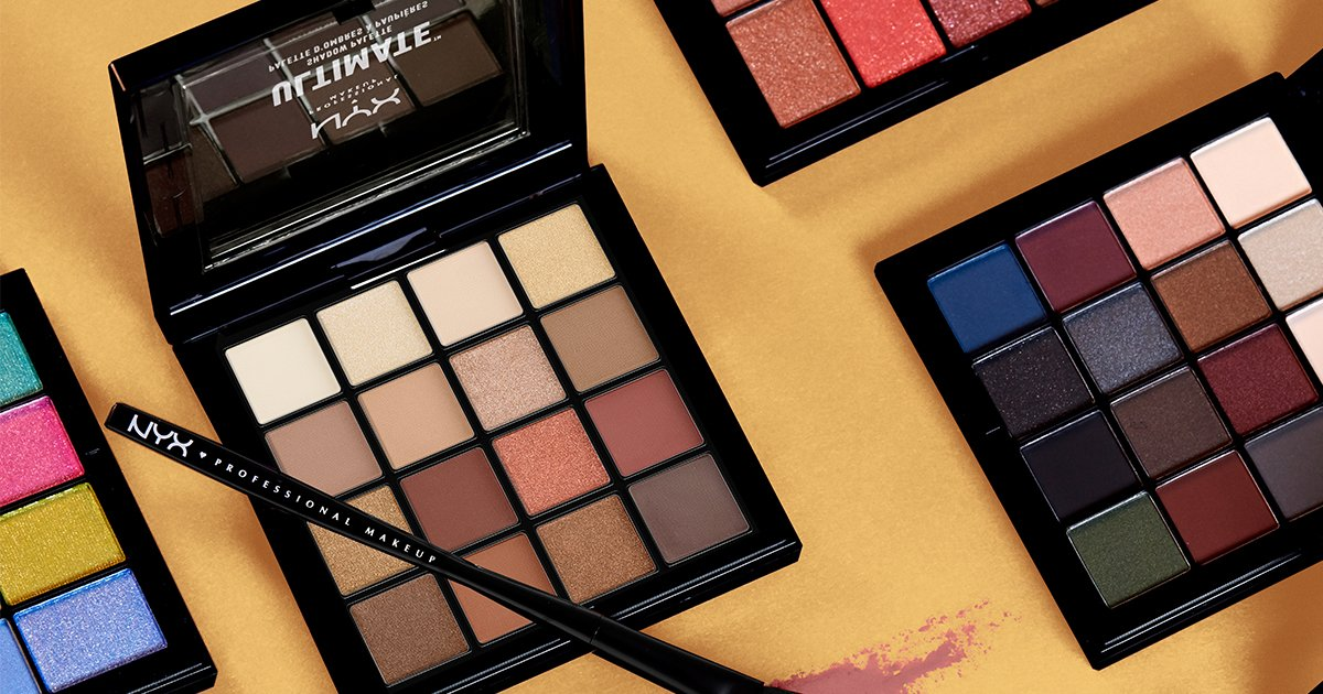 Glossy Pop-Up Shop Free Gift NYX Palette