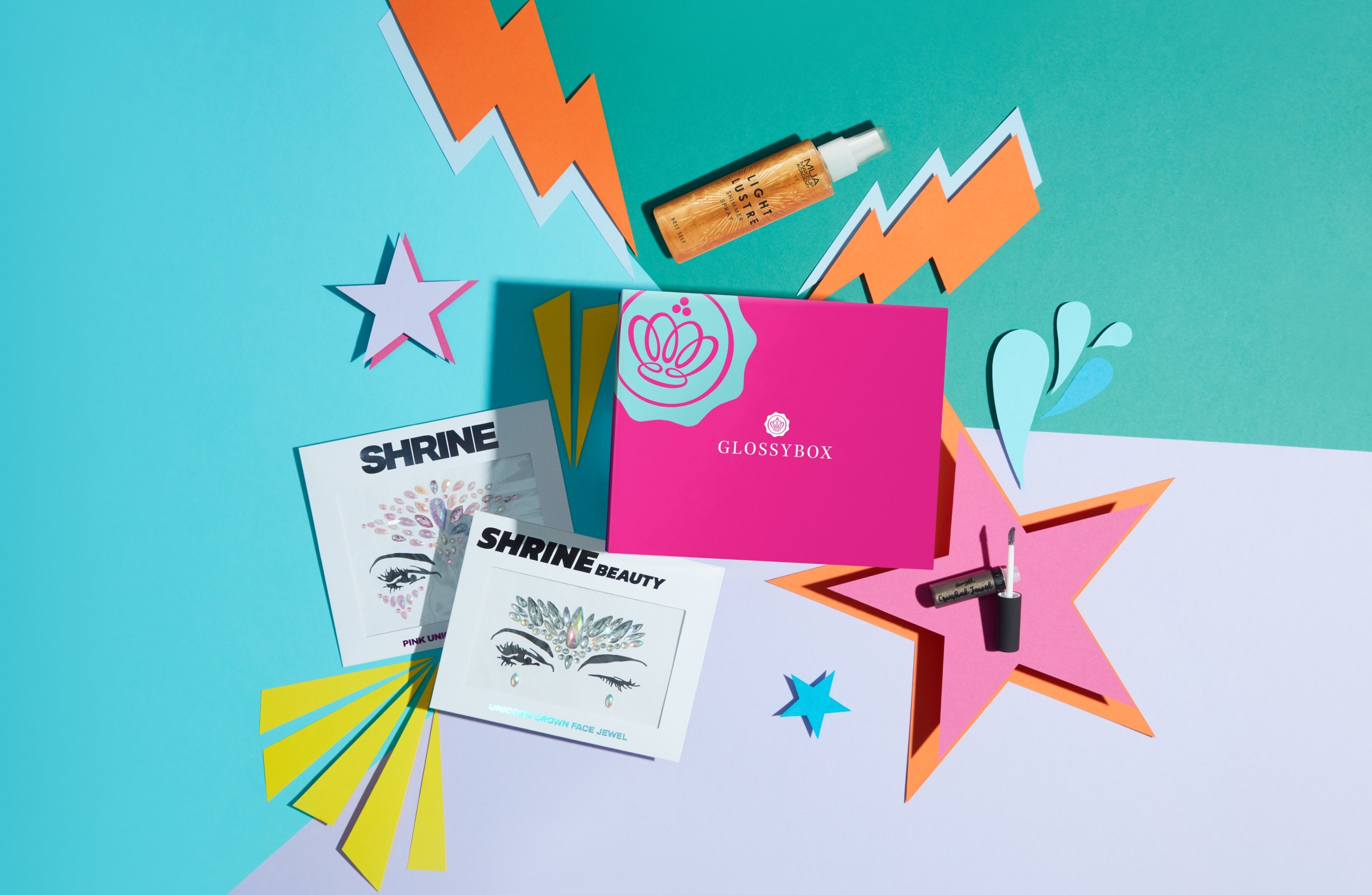 Generation GLOSSYBOX: Barry M, MUA And SHRINE