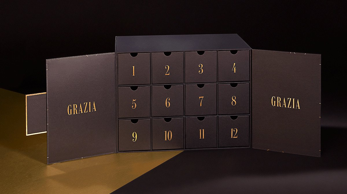 Spoiler Alert: These Are All The Products In The GLOSSYBOX x Grazia Beauty Advent Calendar!
