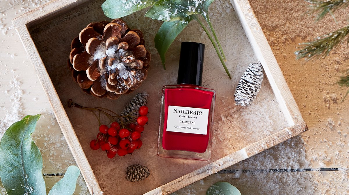 A Festive Nailberry Polish Is Our Second December Sneak Peek!