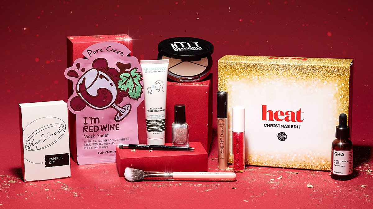 Introducing The GLOSSYBOX x heat Christmas Edit!