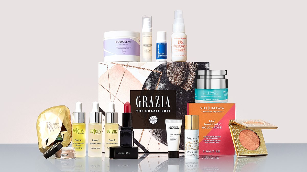 Are You Ready For The GLOSSYBOX x Grazia Limited Edition?