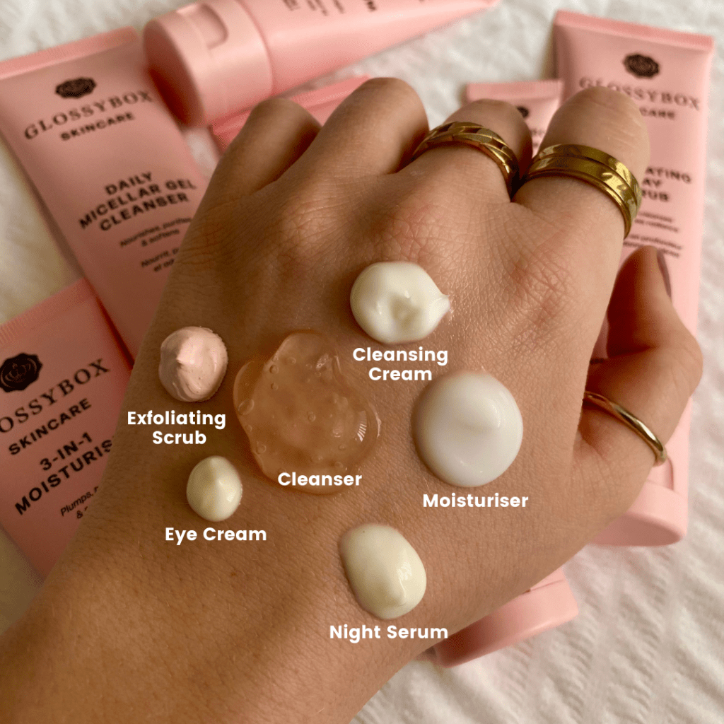 glossybox-skincare-how-much-product-should-you-use