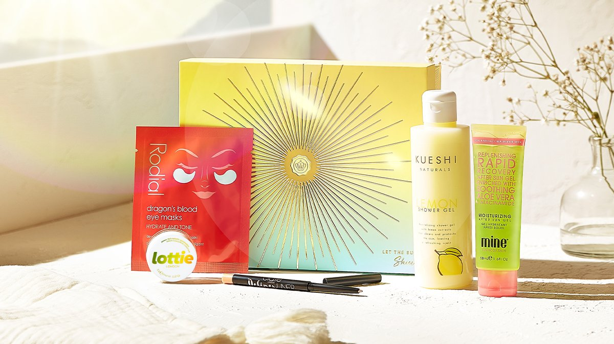All The Products You'll Discover Inside Our May 'Let The Sun Shine' GLOSSYBOX!