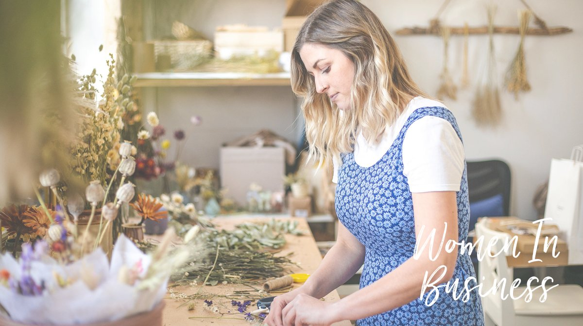 GB x Women In Business: Florist Rookie's Jenna Makes Blooming Good Bouquets!