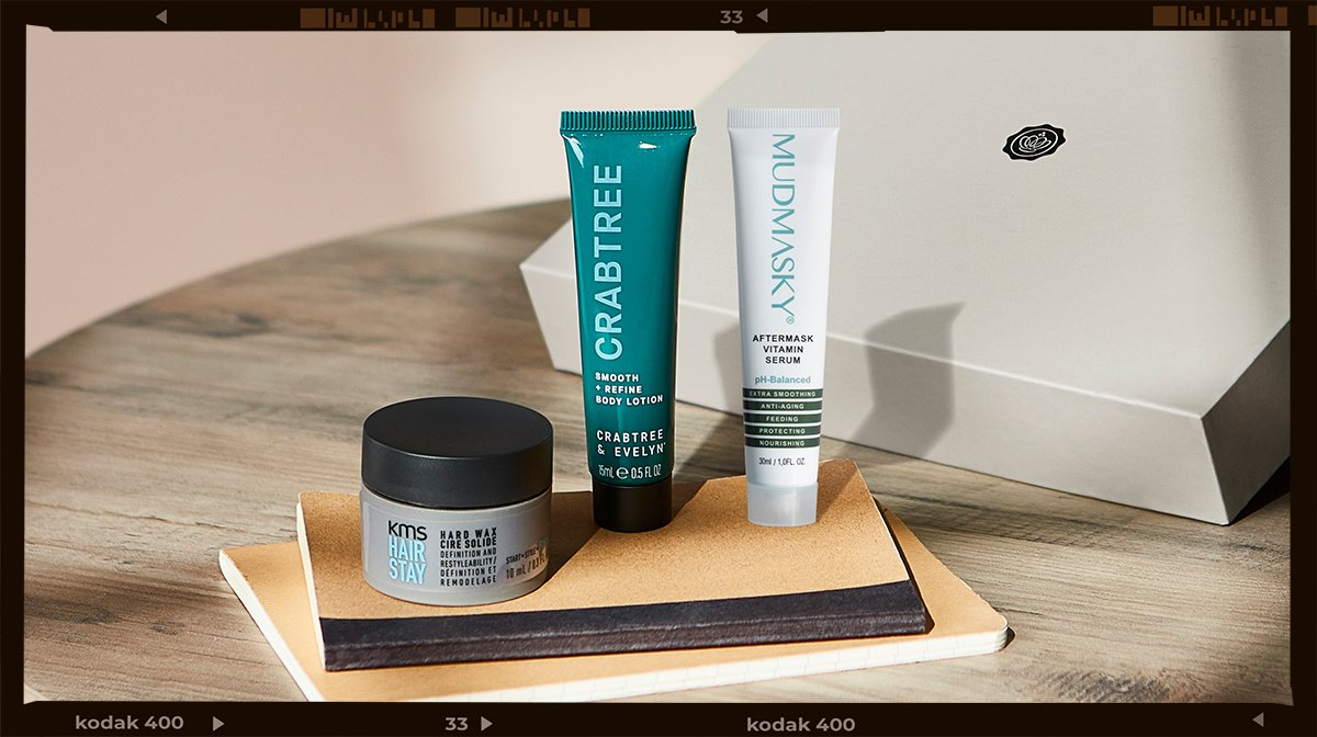 Grooming Kit: Hair And Skincare From Crabtree & Evelyn, KMS And Mudmasky!