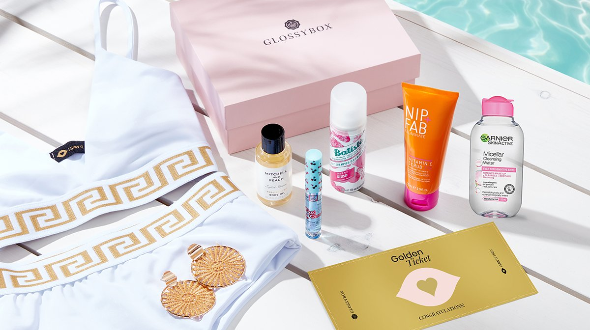 Everything Inside Our June 'Dreaming Of Paradise' GLOSSYBOX!