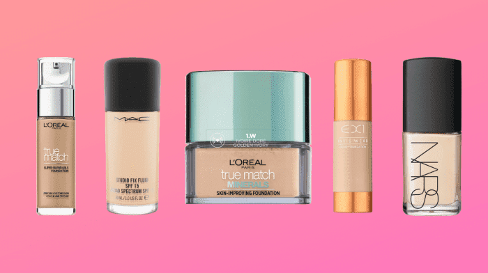 5 Of The Best Foundations You Should Try This Summer!