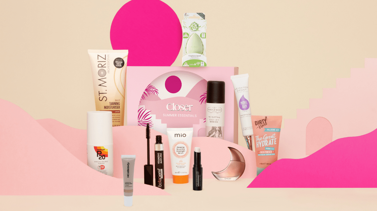 Summer Is Sorted Thanks To Our GLOSSYBOX x Closer Summer Essentials Limited Edition!