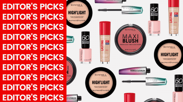 The Exact Products Out Beauty Editor Has In Her Rimmel Pop Up Shop Basket!