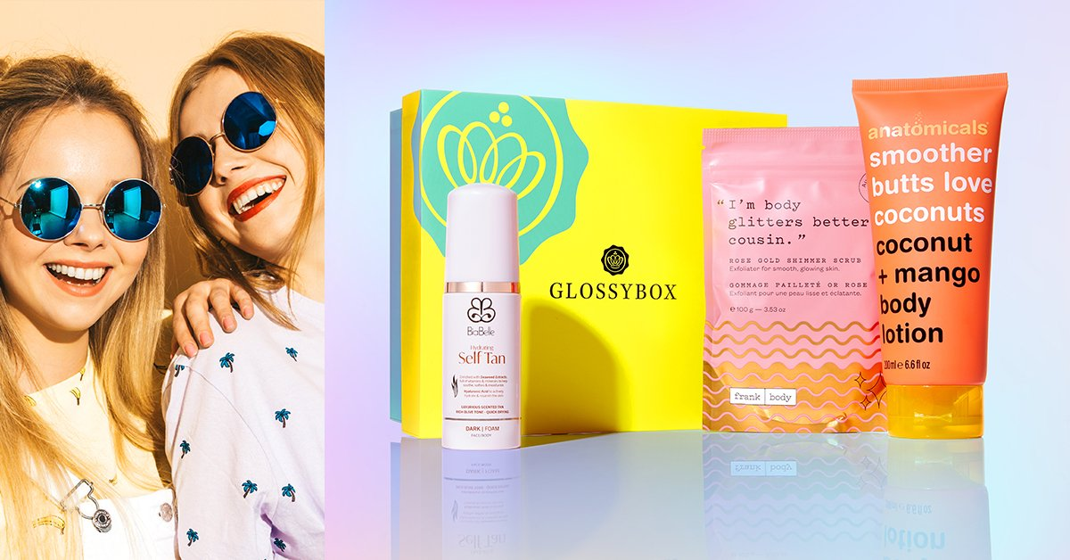 Generation GLOSSYBOX Reveal #3: The Three Products You NEED For Beautiful Bronzed Skin!